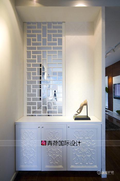 米兰风格三室两厅5平米柜子隔断软装效果图