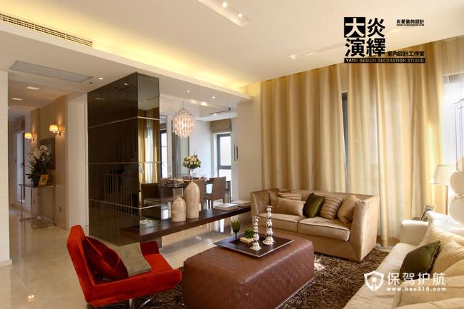 暖暖的原木色 清新淡雅复式混搭家