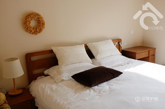 日式森系混搭一居小户型卧室装修效果图