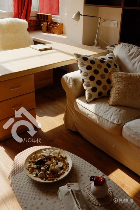 日式风森系混搭一居小户型客厅装修效果图