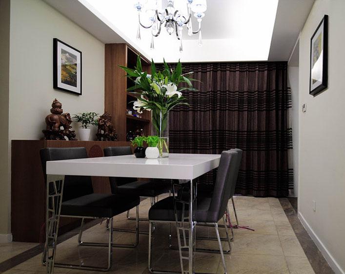 160平現代簡約風三居室餐廳吊頂裝修…