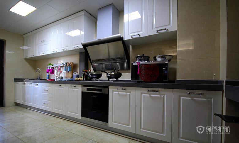 160平现代简约风三居室厨房装修效果图