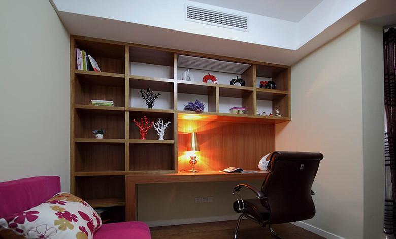 160平現代簡約風三居室書房裝修效果…