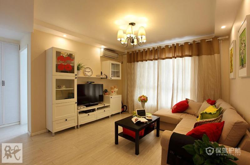 60平小房初长成 暖暖温馨宜家风两室一厅