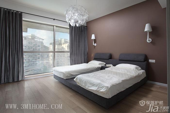 三米设计作品 170平简约混搭风度假居 ,三米设计,混搭风格,大户型