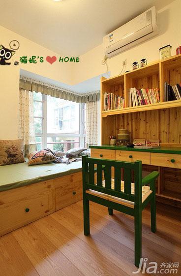 樸實鄉村風二居室8平米兒童房榻榻米…