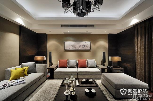 时尚简约中国风 新中式四房装修
