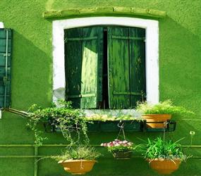 阳台巧设计