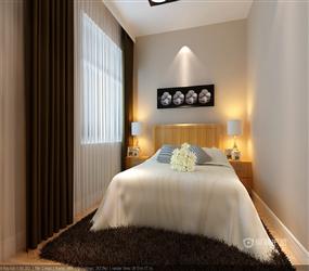 90㎡三室一厅简约风格卫生间装修效果图