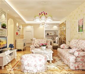 十分温馨的韩式田园卧室