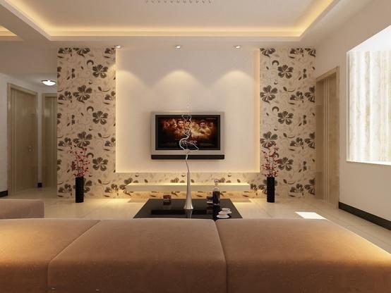 客厅电视背景墙设计的几个建议及注意事项