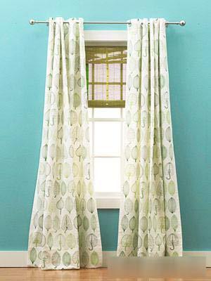 四个小提示  助你选到贴心的窗帘