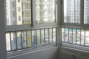 铝合金门窗安装验收