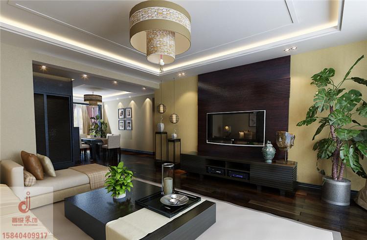 《晋级装饰》金地长青湾178平四居室新中式风格设计