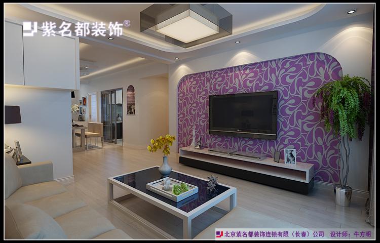 复地歌德堡墅香洋房160平四居室现代风格