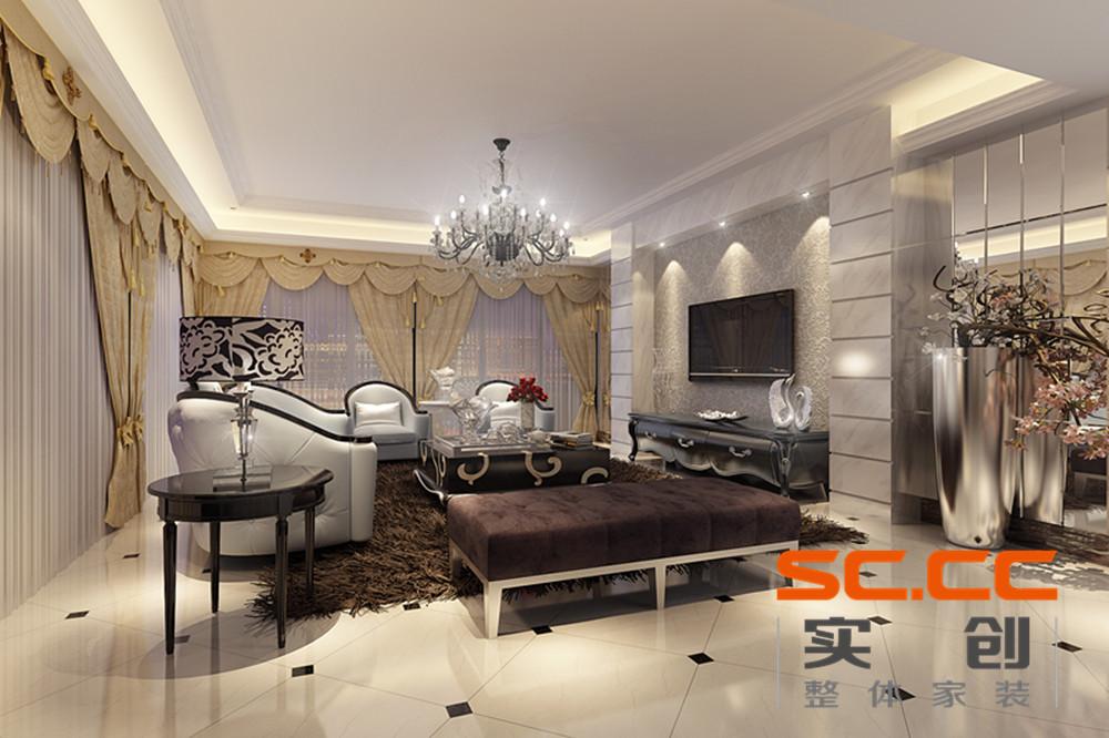【锦绣香江洋房】250平现代欧式静雅之家