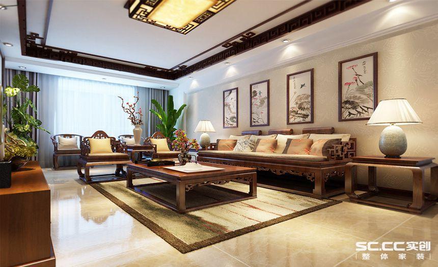 新中式大宅印象-干休所宿舍
