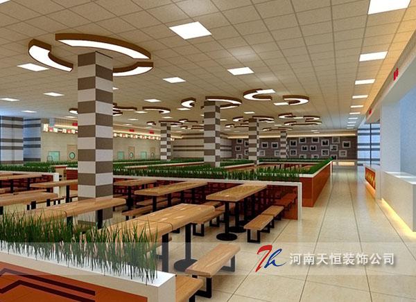 祝贺金泰城广场美食广场装修设计签约河南天恒装饰