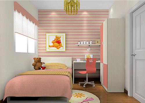 梦幻少女卧室设计效果图赏析