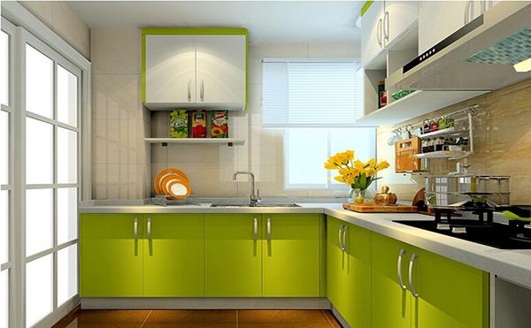 l型厨房装修设计,情调厨房浪漫晚餐