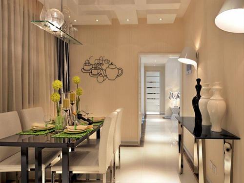 70㎡两室两厅 采用混搭风格进行装修