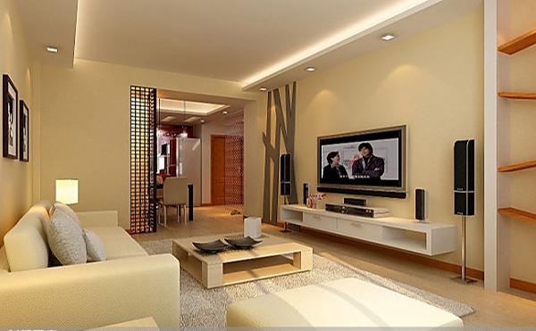 色树状型的木板做墙面装饰,凸出了现代简约风格的简约时尚的艺术感.