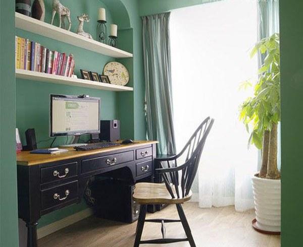 合理利用空间 打造独一无二的书房