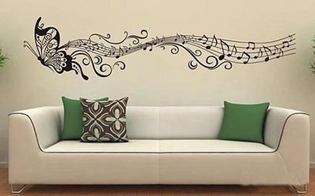 让创意墙绘为你的家居空间锦上添花