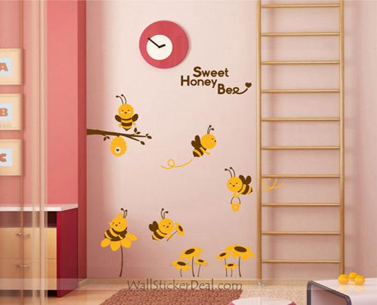 儿童房墙面装饰,活泼生动伴随孩子成长