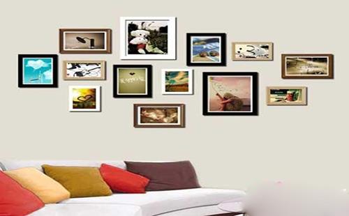 照片墙设计注意事项一:墙面的尺寸大小