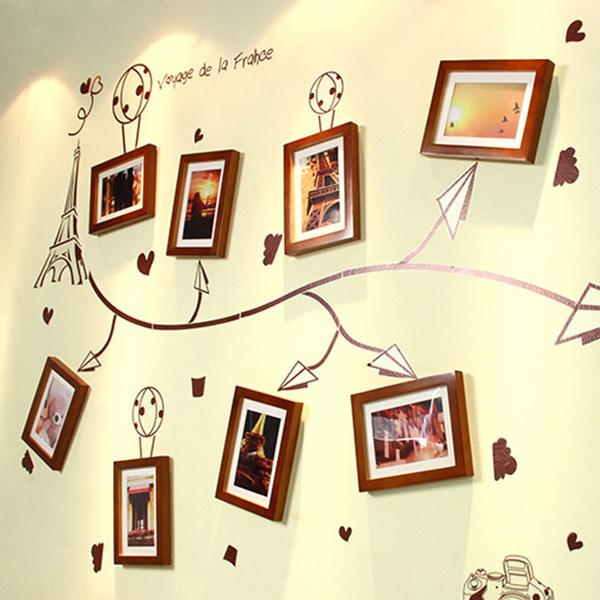 家装照片墙设计效果图欣赏
