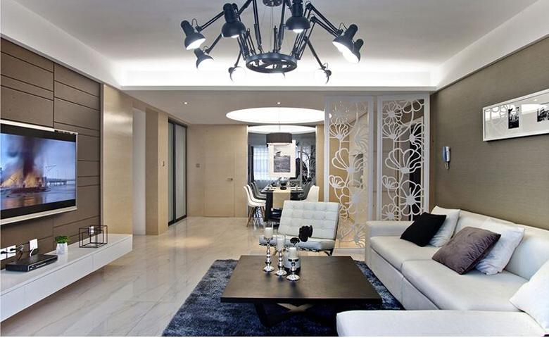 145平3居室现代简约风格