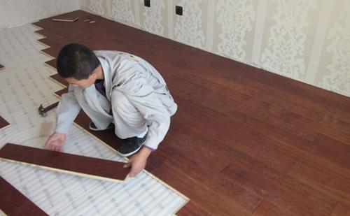 家装木地板施工流程及铺装要点