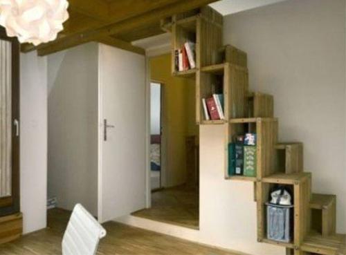 小戶型閣樓樓梯設計