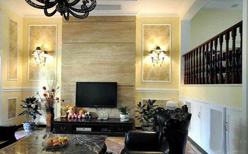 那么电视墙壁灯安装时高度多少适合呢?