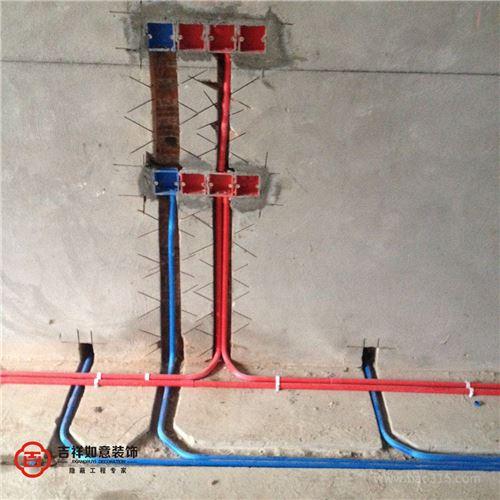三盛长岛区在施工地——电路施工