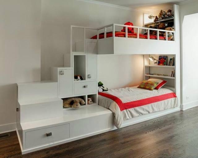 儿童房装修设计图制定原则之二:保障活动空间