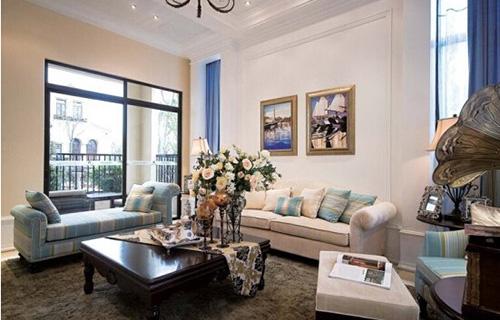欧式客厅装饰画摆放位置