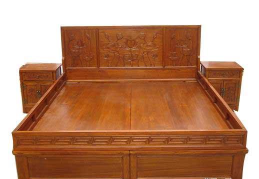 > 标签:榆木家具床