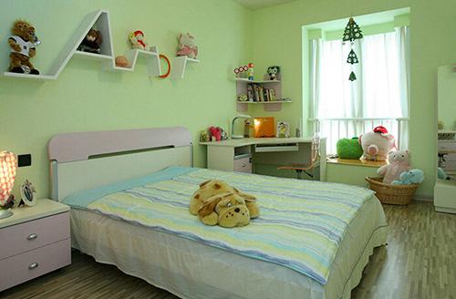 这样的小房间会让小朋友在成长过程中幸福感加倍.