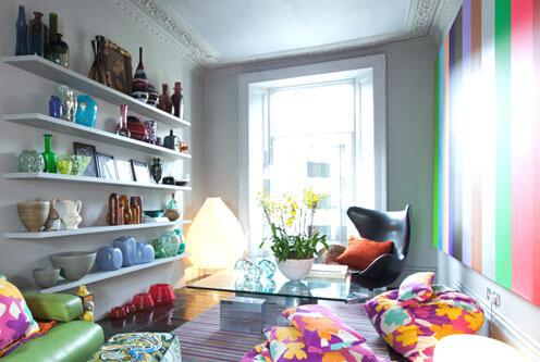 客厅收纳   如何利用客厅墙面收纳?