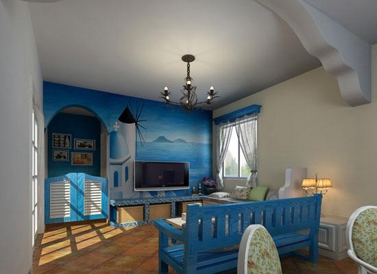 144平米地中海+田园风情,打造悠然家居生活