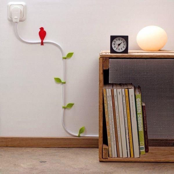 室内裸露电线艺术装饰效果图二:电缆爬藤