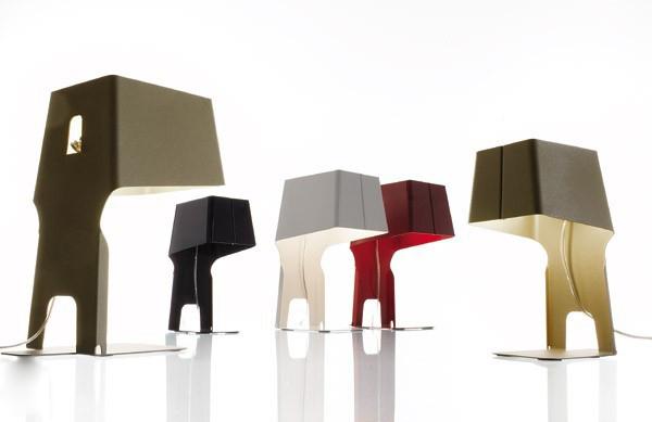 颠覆传统的创意家居台灯设计