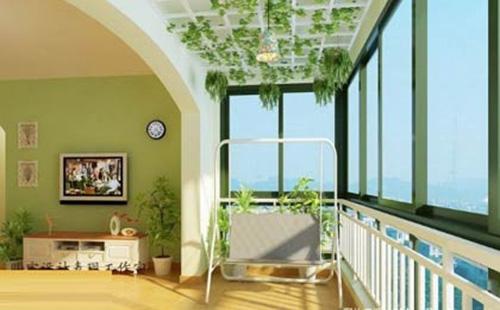 4款阳台装修效果图,让您有不一样的感觉