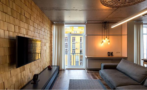 loft工业风格公寓装修