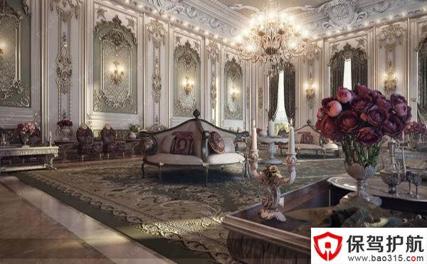 法国古典奢华宫廷风格住宅设计案例赏析