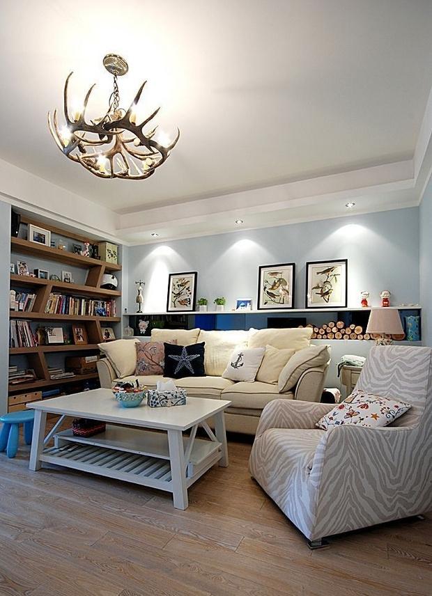 创意墙面装饰 12个美式客厅背景墙