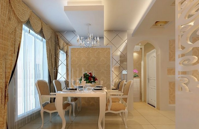 餐厅装修的八大妙招 保证餐厅美观和实用性