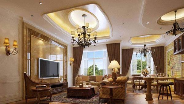 欧式风格装修 奢华与实用性完美展现